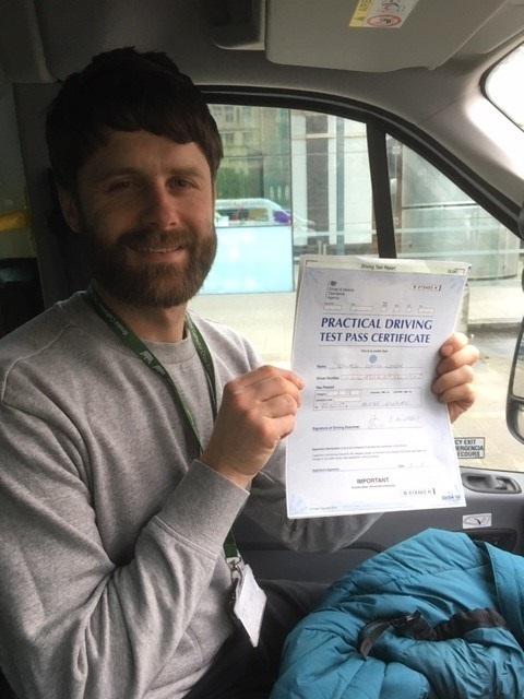 D1 Driver training pass student