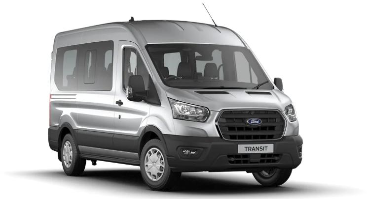 Minibus Leasing - 12-seat Ford Transit minibus