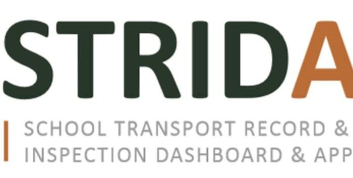 School Transport Manager app - STRIDA