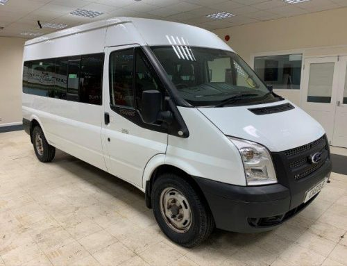 Ford Transit 14 Seat – Silver