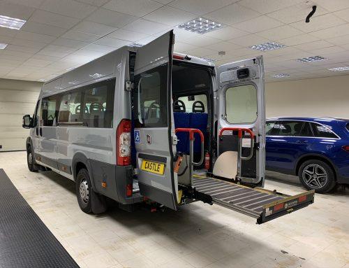 Fiat Ducato Wheelchair Access Minibus – XRZ