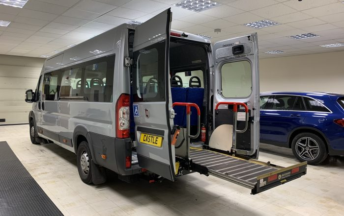 Fiat Ducato Wheelchair Accessible Minibus For Sale