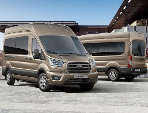 Lease your Ford Transit 460 L4 17-seater Trend minibus from only £395* per month