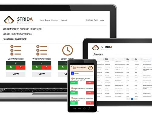 STRIDA is here! Introducing Castle's new School Transport Record and Inspection Dashboard with App