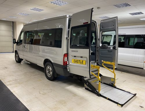 Ford Transit Wheelchair Access Minibus