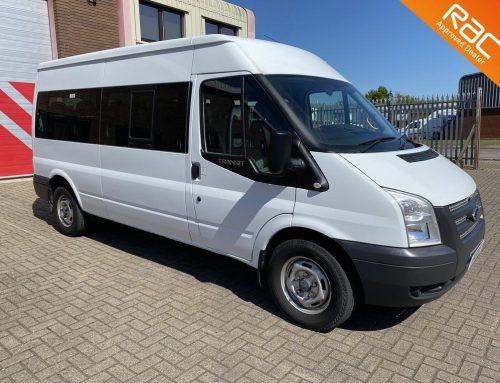 Ford Transit 14 Seat – White
