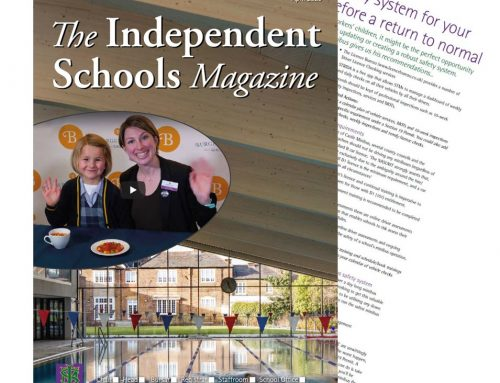 As seen in April Issue of The Independent Schools Magazine. Creating a robust safety system for your school minibuses before a return to normal