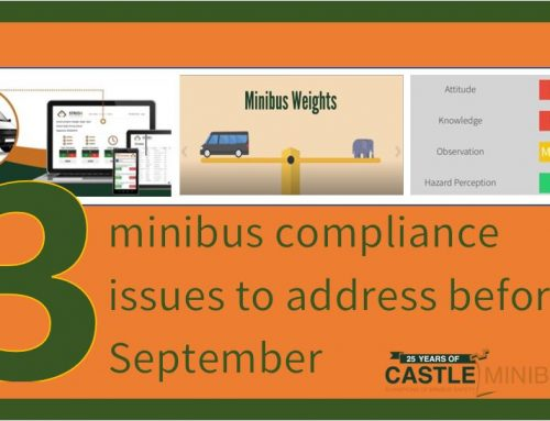 Three minibus compliance issues to address before September