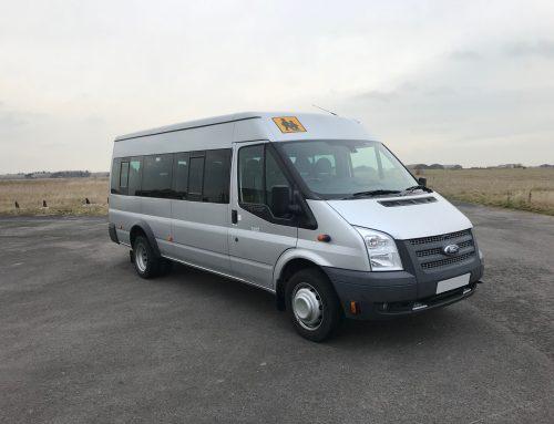 Ford Transit Euro 5 17 Seat Minibus Silver
