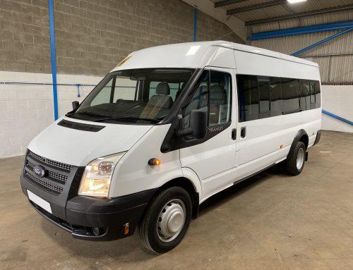 Ford Transit Euro 5 17 Seat Minibus White