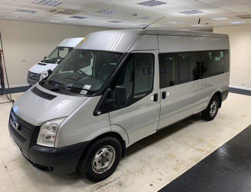 Ford Transit Euro 5 14 Seat Minibus Silver