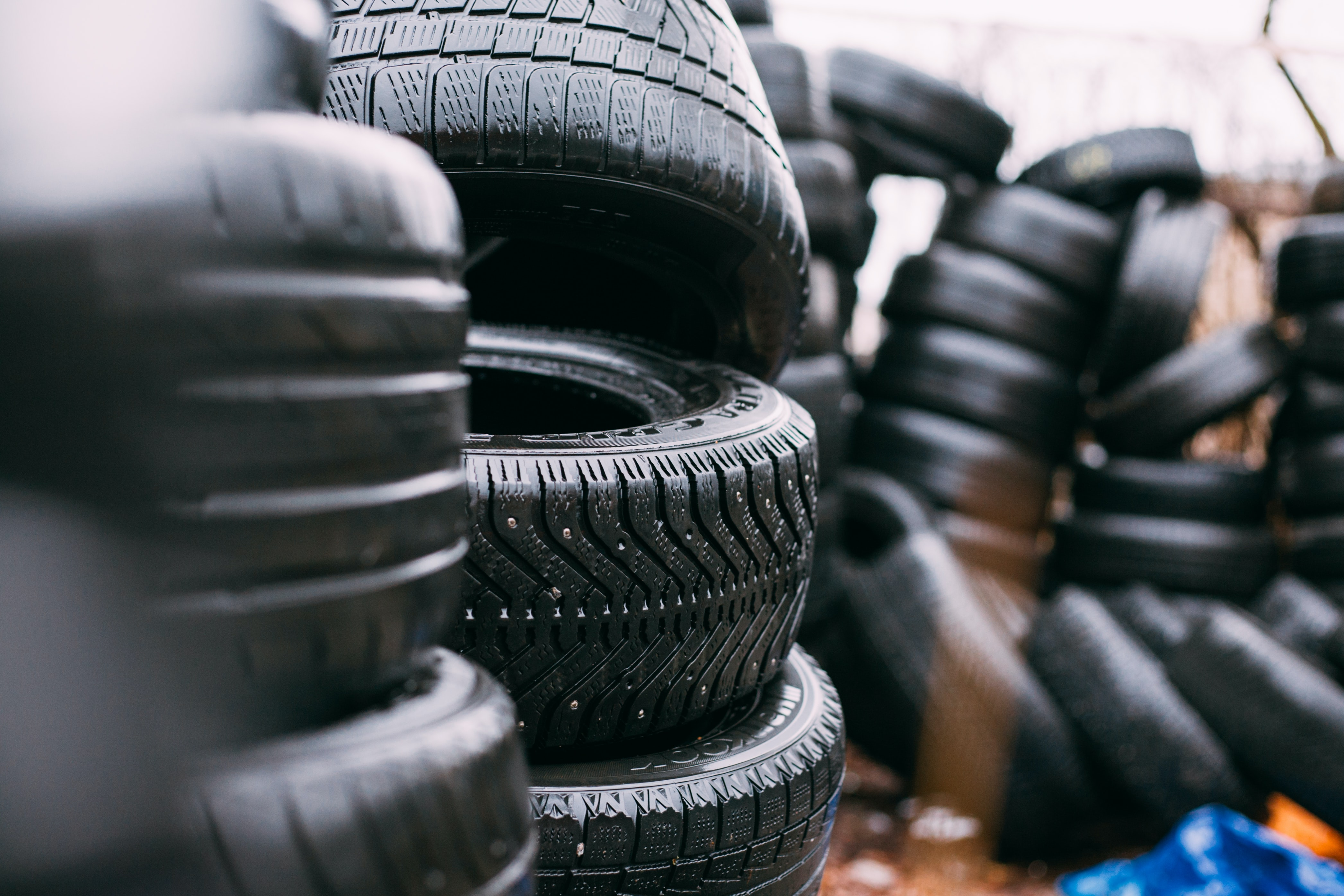 An image of tyres