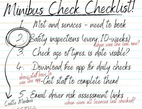 A Back to School Minibus Check Checklist