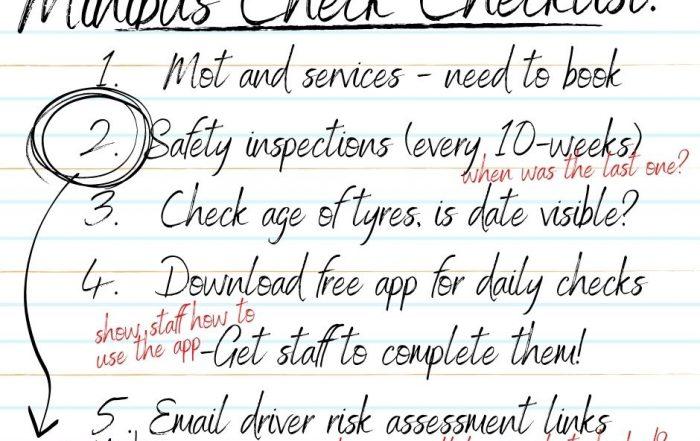 Minibus Check Checklist