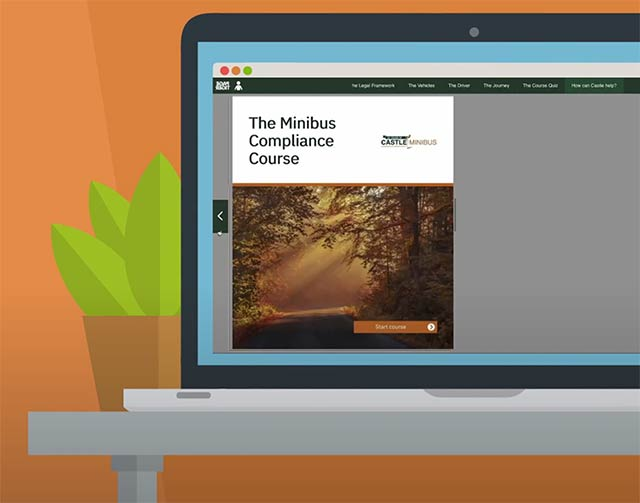 Online compliance course